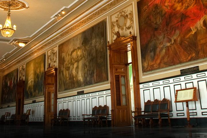 El palacio de gobierno for Gobierno interior