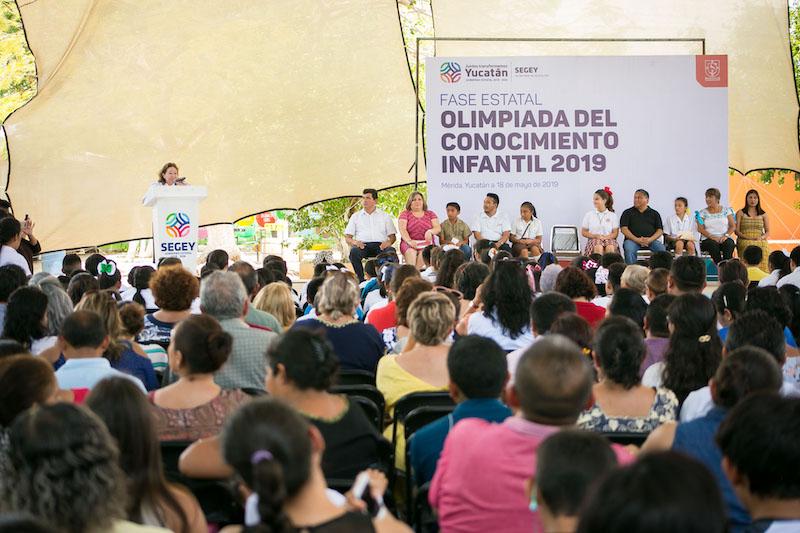 Resultado de imagen para Olimpiada del Conocimiento Infantil 2019 yucatan